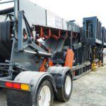 MCS dual bay truck unloader